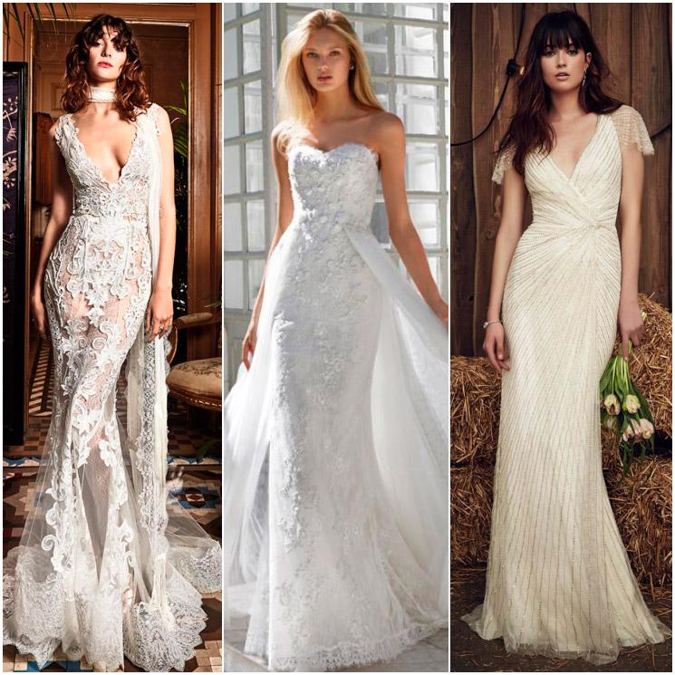 vestidos de novia: un corte sirena para cada mujer - foto