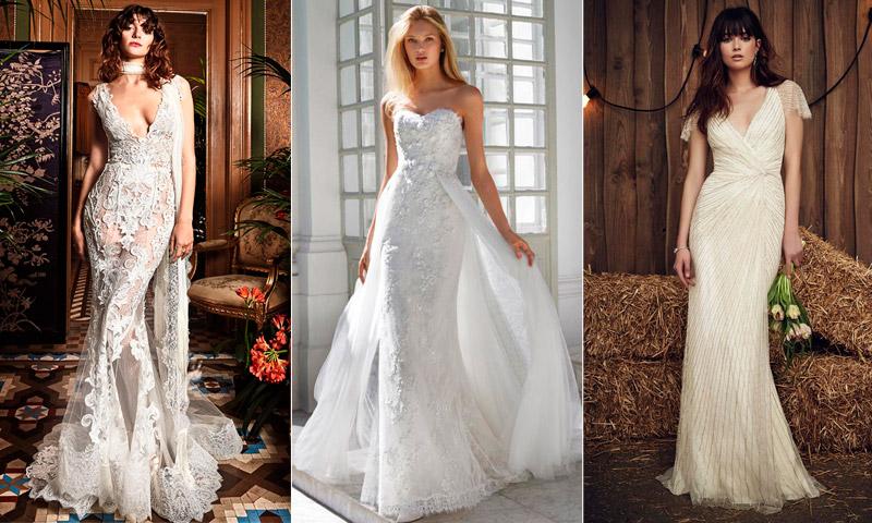 5d0f374e8 Vestidos de novia  Un corte sirena para cada mujer - Foto
