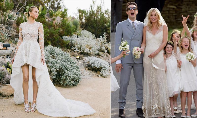 Especial bodas 5 novias ic nicas y 5 vestidos nicos en for Novias originales 2017