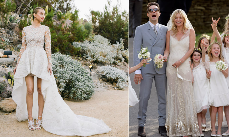 Especial bodas: 5 novias icónicas y 5 vestidos únicos en los que inspirarte