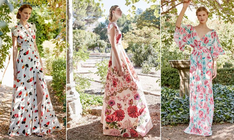 c5bf2d198b ... vestidos de fiesta con flores para las invitadas de 2017 ...
