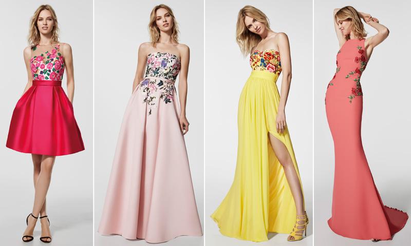 Moda en vestidos para fiesta 2018