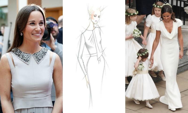 Rosa Clará, Monique Lhuillier, Stéphane Rolland... Así imaginan el vestido de novia de Pippa Middleton