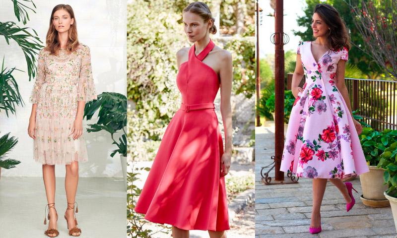 10 vestidos de fiesta para bodas de día - foto