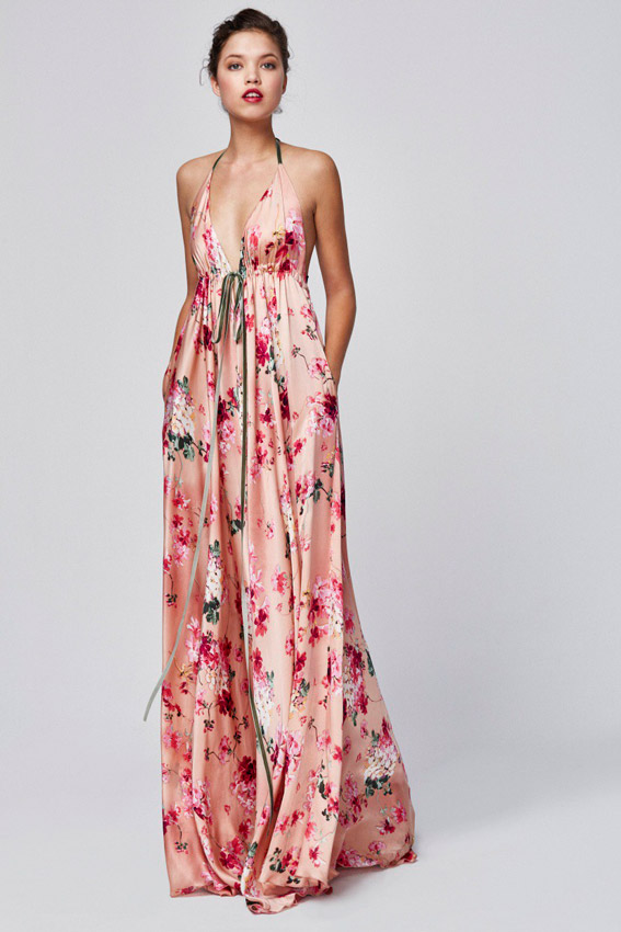 Vestido corto para boda de manana