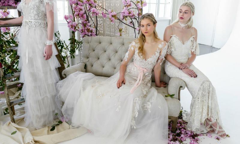 De Madrid a Nueva York: Los 61 vestidos de novia más bonitos para 2018