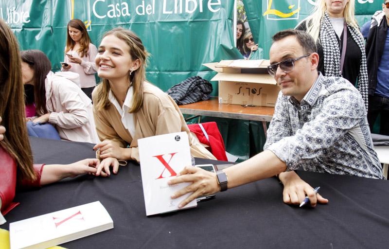 Una de 'gym', otra de 'ñam' y firmas de libros, la cuenta atrás de Laura Escanes