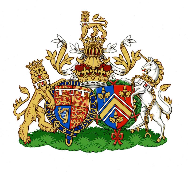 El escudo de los Middleton
