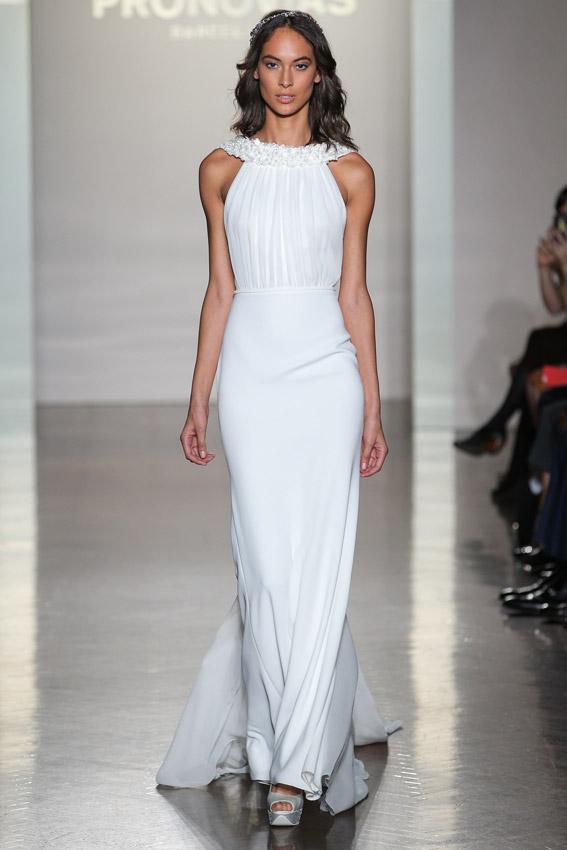 Vestidos de novia por el civil sencillos