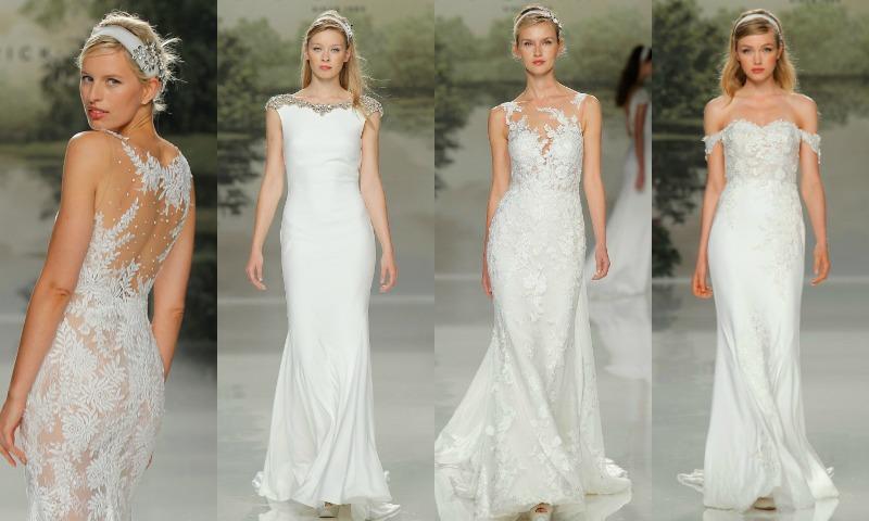 así están siendo los vestidos de novia más bonitos en el segundo día