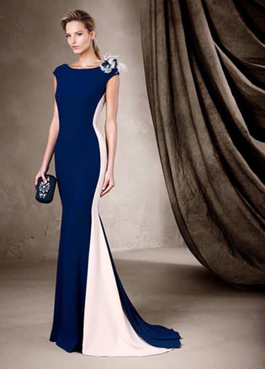 f1a0cc485 El corte sirena de Pronovias también es tendencia en los vestidos de fiesta