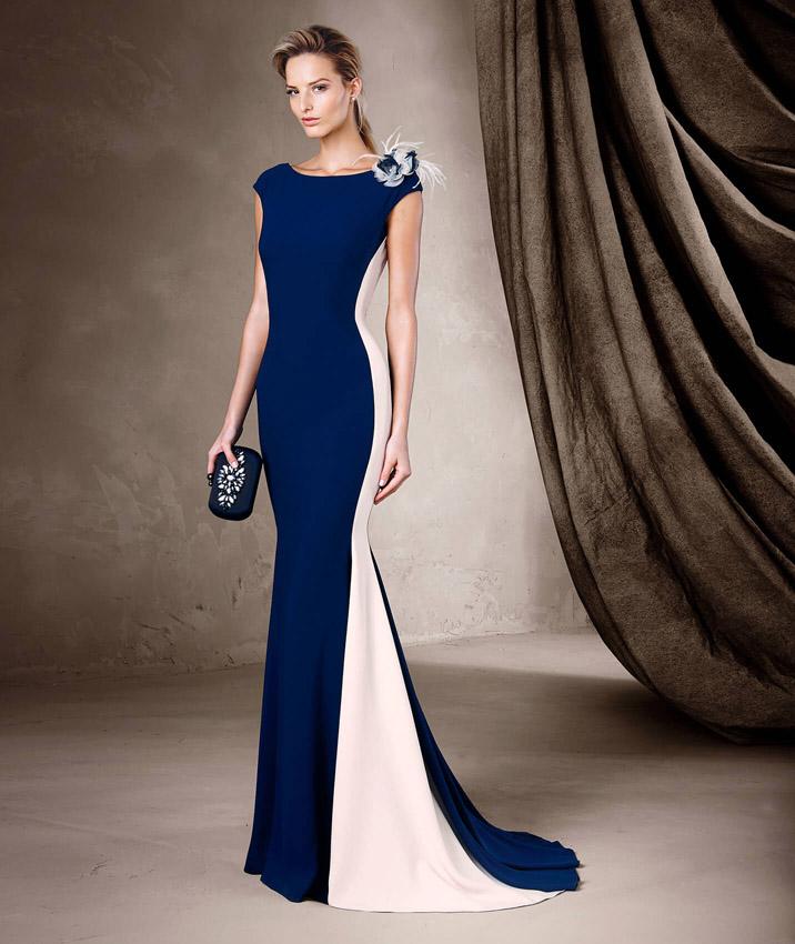 El corte sirena de Pronovias también es se lleva en los vestidos de ... 3a6a7bfd2d61