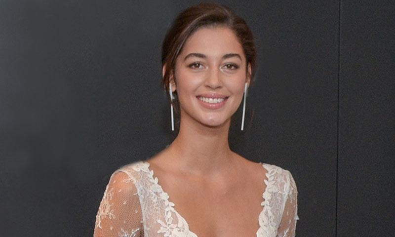 Mariana Downing, pareja de Marc Anthony, se viste de novia para Rosa Clará: 'Él es muy lindo por dentro'