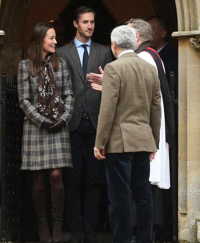 ¡Últimos preparativos! Pippa Middleton visita con sus padres la iglesia en la que se casará