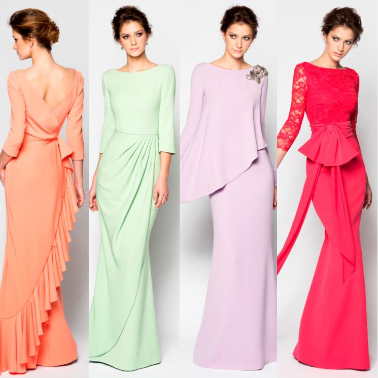 72106f4b9f Enlace a la vista! 25 Vestidos de madrina para deslumbrar en la ...