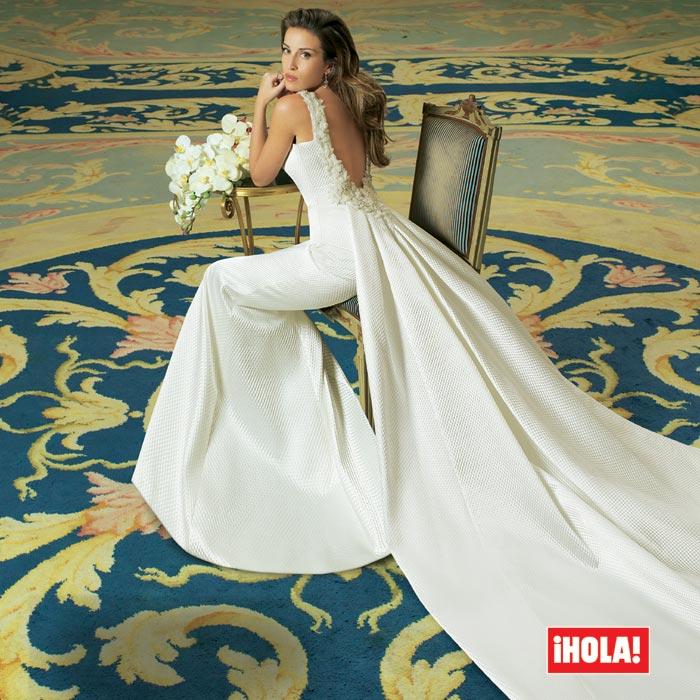 exclusiva: ¿por qué hubo diez ramos de novia en la boda de fonsi
