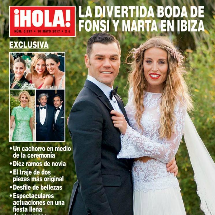 ba7202ca Así fue el vestido de novia romántico y 'boho' de Marta Castro - Foto