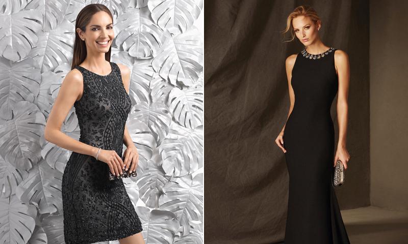 Joyas para usar con vestido negro