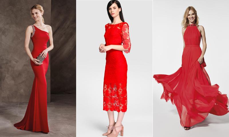 Vestidos de fiesta: ¿Te atreves con el rojo?