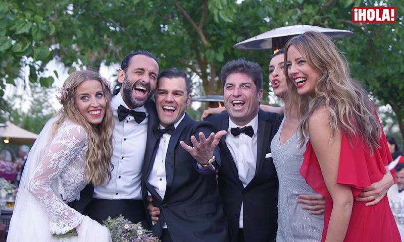 Y tras la boda... ¡empezó el baile! Así fue la espectacular fiesta de Fonsi Nieto y Marta Castro