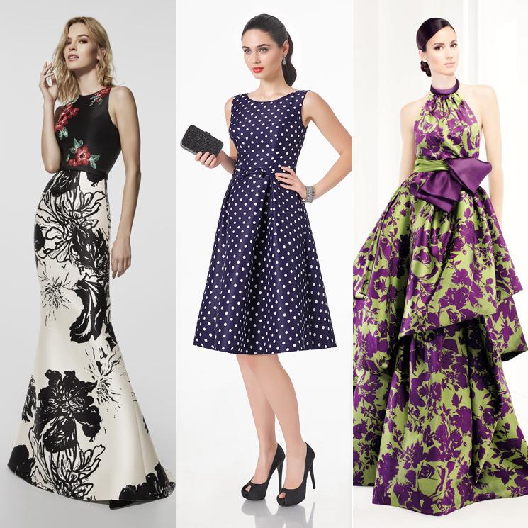 833e93f93 Los mejores vestidos de fiesta estampados para ir de boda - Foto