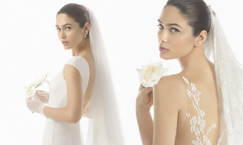 rosa clará: velos para una novia deslumbrante - foto