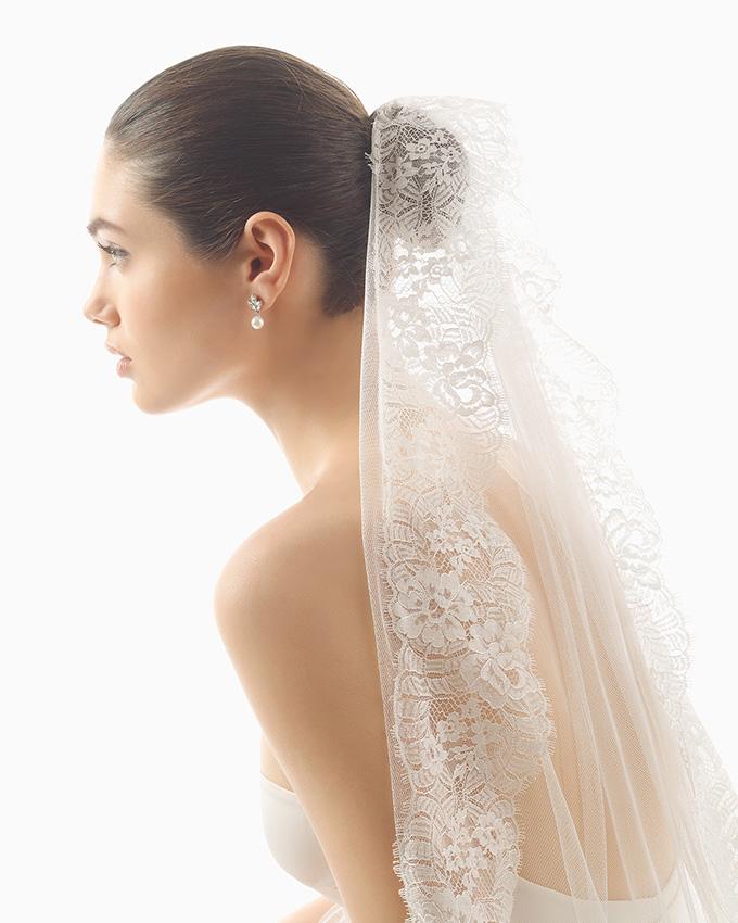 ff6b9af040 Rosa Clará  velos para una novia deslumbrante - Foto