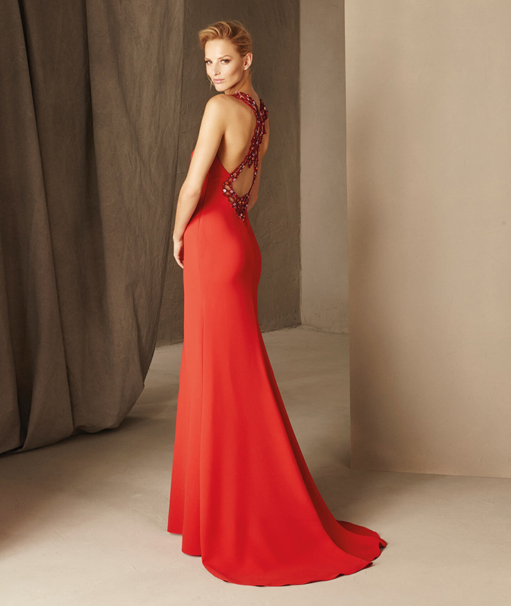 Vestidos largos rojo valentino