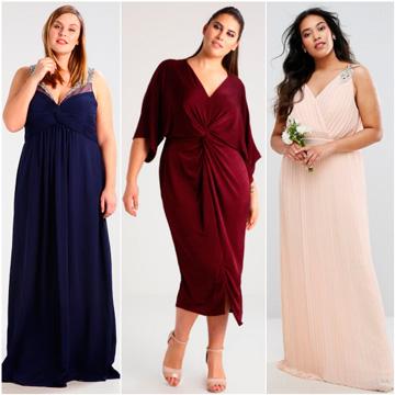 629bbe89c Sobre curvas e invitadas perfectas  20 Vestidos de fiesta  plus size  - Foto