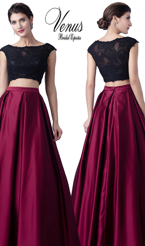 1cb036983 Crop tops' y falda, ¿cómo combinarlos en tu próxima boda? - Foto