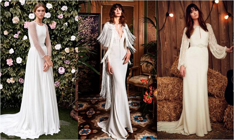 galería: ¿te casas este otoño? estos vestidos te darán la