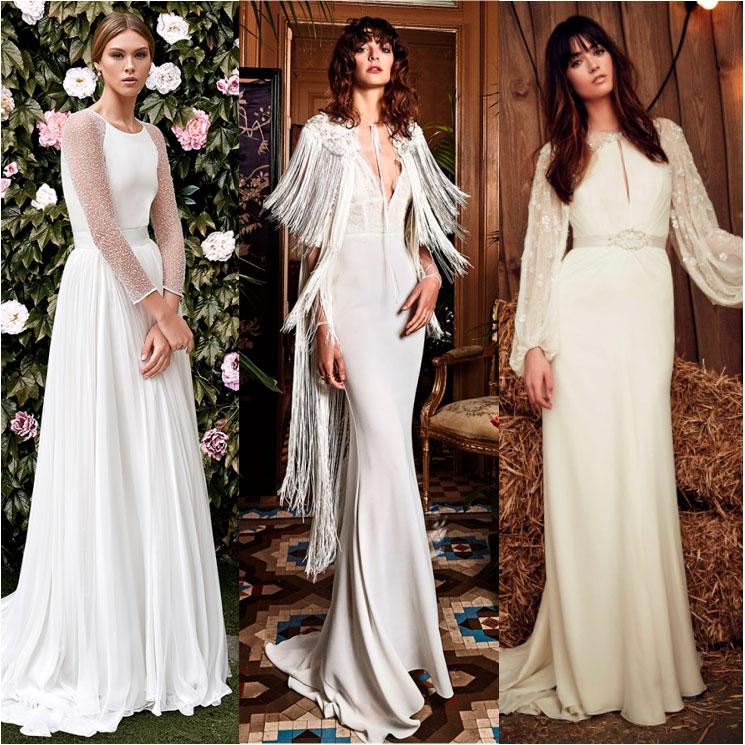 3056330bf Galería  ¿Te casas este otoño  Estos vestidos te darán la inspiración que  necesitas