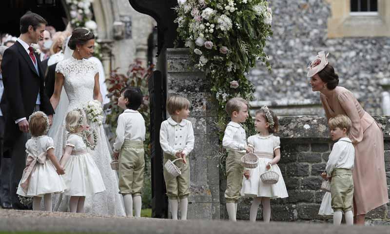 La gran boda de Pippa Middleton y James Matthews