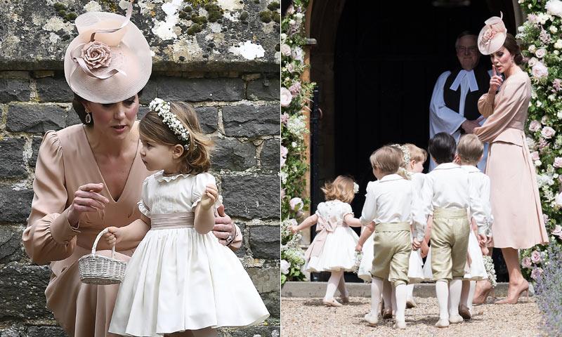 También fue un gran día para los príncipes Charlotte y George de Cambridge