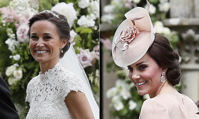 Peinado de kate middleton en su boda