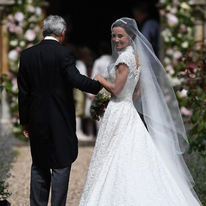 pippa middleton: todos los detalles de la romántica novia