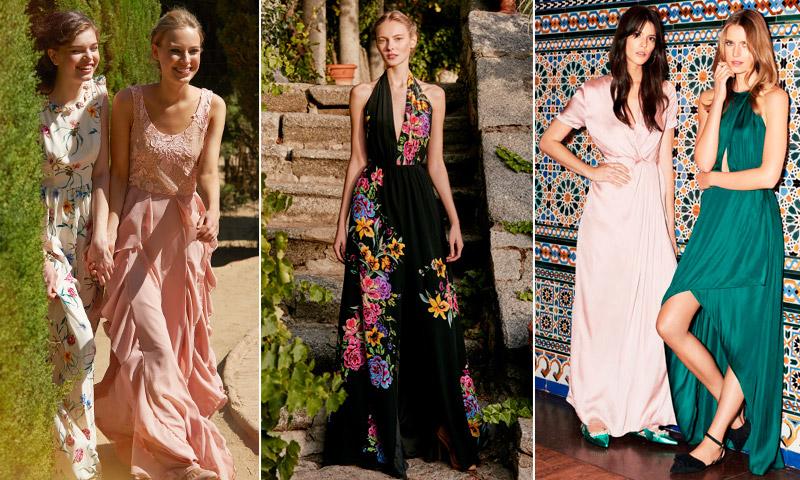 35 vestidos de fiesta para bodas de tarde seg n tu for Boda en jardin vestidos