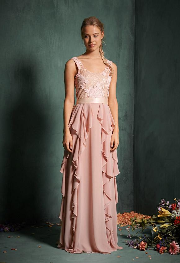 Vestidos largos de noche para una boda