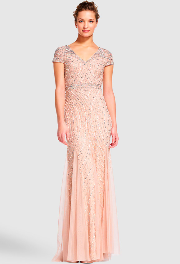 24a38b66ec ... vestidos de fiesta para boda de noche ...