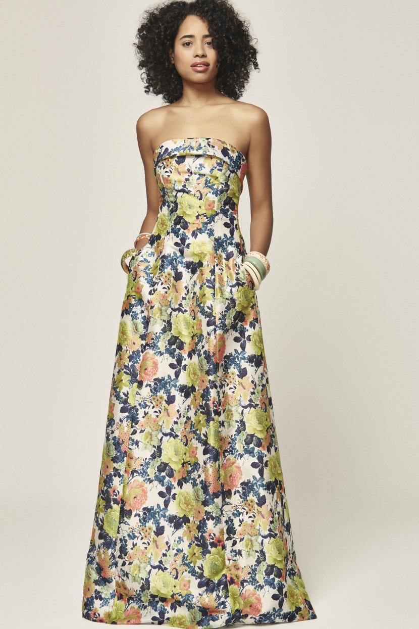 Vestidos para boda de noche sencillos