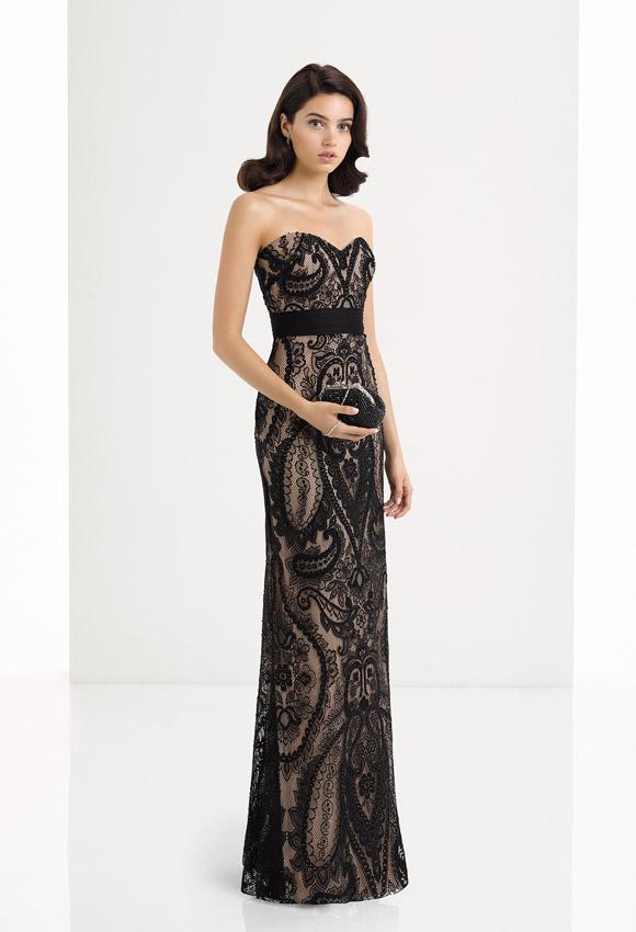 Modelos de vestidos de fiesta noche