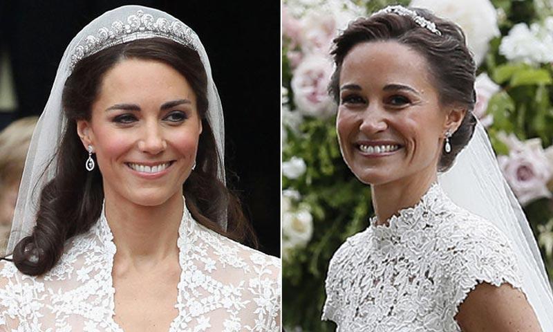 Matrimonio Pippa Middleton : Los grandes parecidos entre las bodas de pippa y