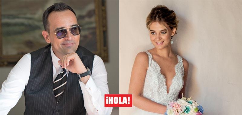 Exclusiva en ¡HOLA!, las primeras imágenes de la divertida boda de Risto Mejide y Laura Escanes