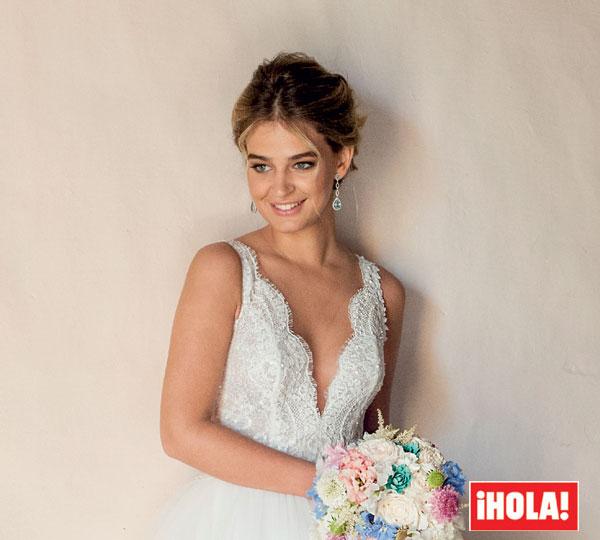 laura escanes todos los detalles de sus dos vestidos de novia que solo puedes ver en hola