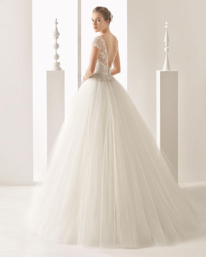 Fotos vestido novia laura escanes