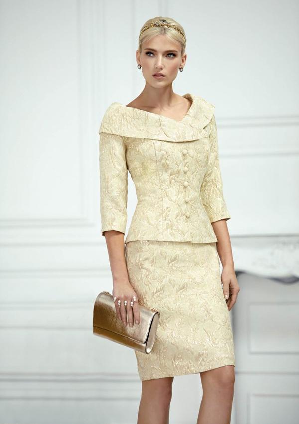 fd43c15e3 El vestido cóctel y otros diseños con los que serás la madrina más ...