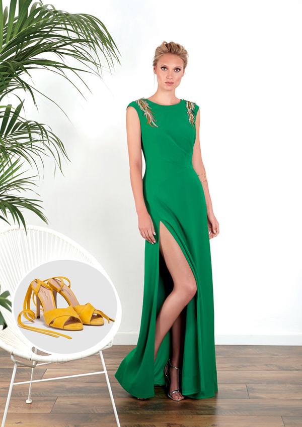 34fa40b874 8 looks con 8 zapatos  cómo combinar tus vestidos de fiesta - Foto