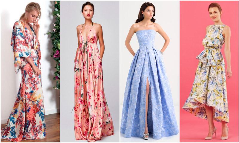 Un vestido de invitada, una fiesta de verano - Foto