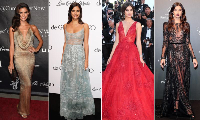 De boda con Sara Sampaio: ¿Cuál es el vestido de fiesta ideal?