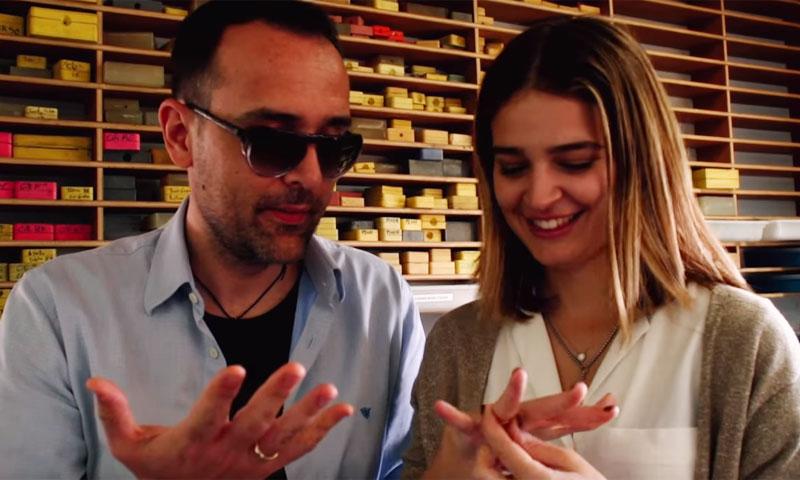 El precioso y emotivo proceso de creación de las alianzas de Risto Mejide y Laura Escanes